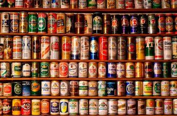 Colecionar latas de cerveja